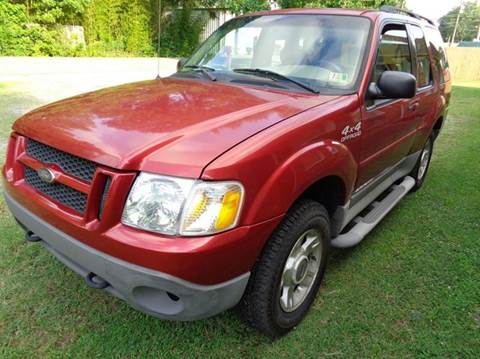 2002 Ford Explorer Sport for sale at Liberty Motors in Chesapeake VA