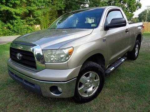 2007 Toyota Tundra for sale at Liberty Motors in Chesapeake VA