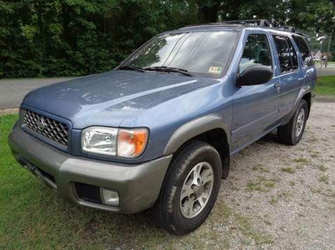 2001 Nissan Pathfinder for sale at Liberty Motors in Chesapeake VA