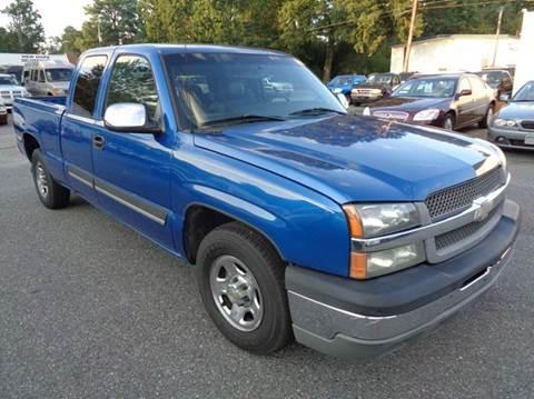 2004 Chevrolet Silverado 1500 for sale at Liberty Motors in Chesapeake VA