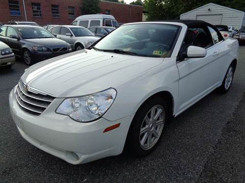 2008 Chrysler Sebring for sale at Liberty Motors in Chesapeake VA