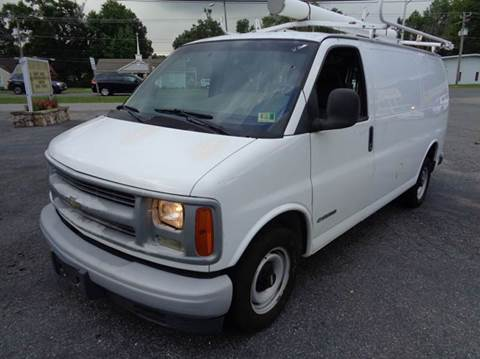 2001 Chevrolet Express Cargo for sale at Liberty Motors in Chesapeake VA