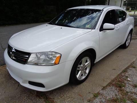 2012 Dodge Avenger for sale at Liberty Motors in Chesapeake VA