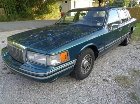 1994 Lincoln Town Car for sale at Liberty Motors in Chesapeake VA