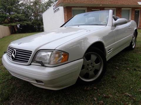 2000 Mercedes-Benz SL-Class for sale at Liberty Motors in Chesapeake VA