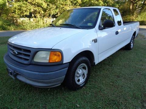 2004 Ford F-150 Heritage for sale at Liberty Motors in Chesapeake VA