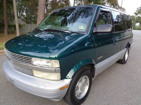 1998 Chevrolet Astro for sale at Liberty Motors in Chesapeake VA