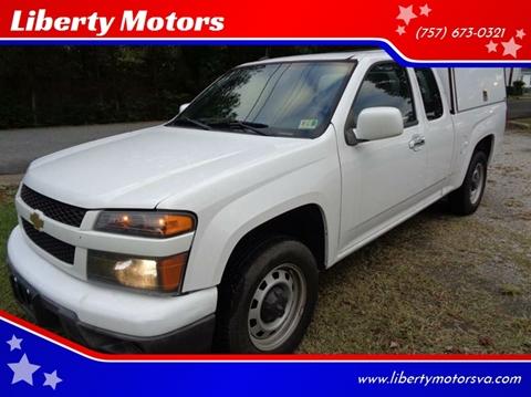 2012 Chevrolet Colorado for sale at Liberty Motors in Chesapeake VA