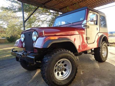 1979 Jeep CJ-5 for sale at Liberty Motors in Chesapeake VA
