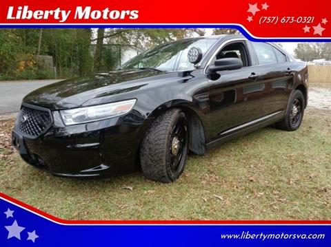 2013 Ford Taurus for sale at Liberty Motors in Chesapeake VA