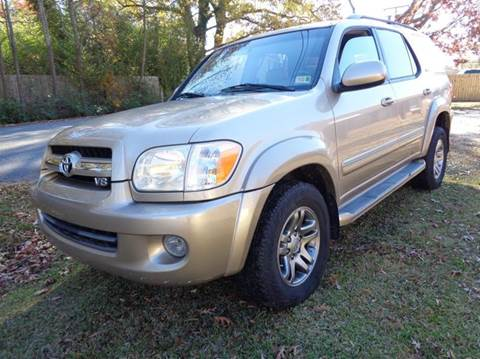 2006 Toyota Sequoia for sale at Liberty Motors in Chesapeake VA
