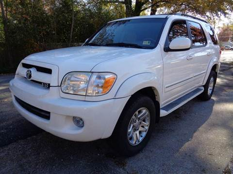 2007 Toyota Sequoia for sale at Liberty Motors in Chesapeake VA