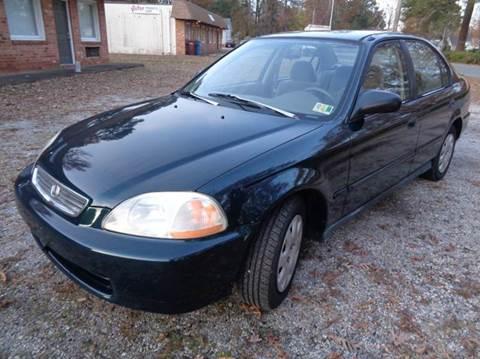 1998 Honda Civic for sale at Liberty Motors in Chesapeake VA