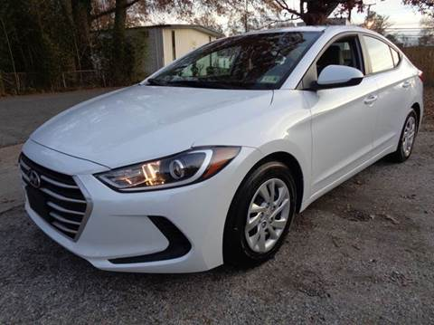 2017 Hyundai Elantra for sale at Liberty Motors in Chesapeake VA