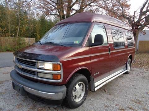 2001 Chevrolet Express Passenger for sale at Liberty Motors in Chesapeake VA