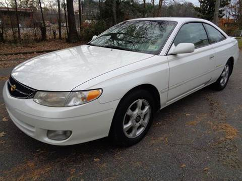 2000 Toyota Camry Solara for sale at Liberty Motors in Chesapeake VA