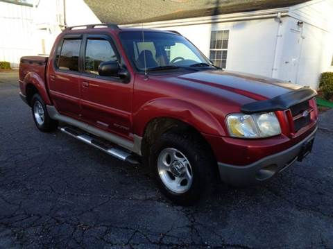 2002 Ford Explorer Sport Trac for sale at Liberty Motors in Chesapeake VA