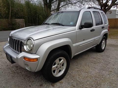 2002 Jeep Liberty for sale at Liberty Motors in Chesapeake VA