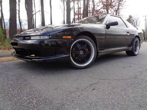 1989 Toyota Supra for sale at Liberty Motors in Chesapeake VA