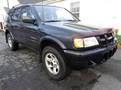 2003 Isuzu Rodeo for sale at Liberty Motors in Chesapeake VA