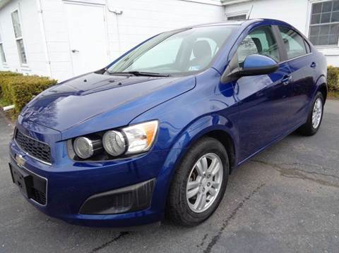 2014 Chevrolet Sonic for sale at Liberty Motors in Chesapeake VA