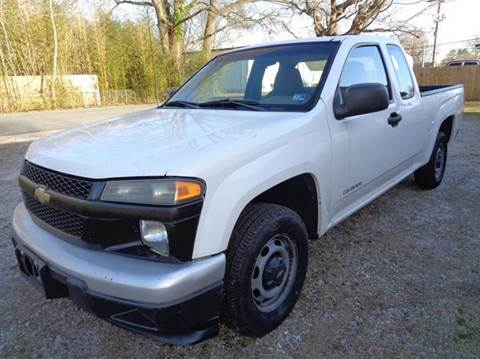 2005 Chevrolet Colorado for sale at Liberty Motors in Chesapeake VA