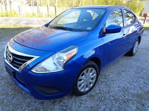 2015 Nissan Versa for sale at Liberty Motors in Chesapeake VA