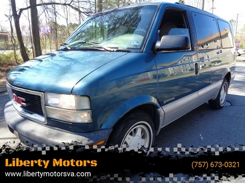 2000 GMC Safari for sale at Liberty Motors in Chesapeake VA