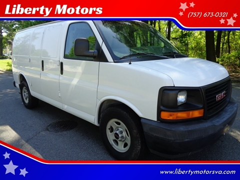 2003 GMC Savana Cargo for sale at Liberty Motors in Chesapeake VA