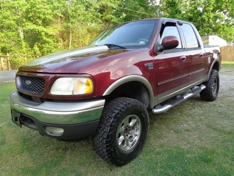 2003 Ford F-150 4dr SuperCrew XLT 4WD Styleside SB In