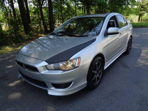 2010 Mitsubishi Lancer for sale at Liberty Motors in Chesapeake VA