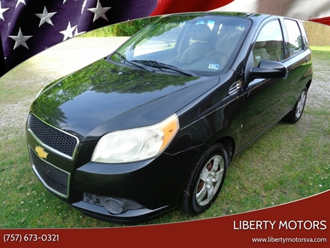 2009 Chevrolet Aveo for sale at Liberty Motors in Chesapeake VA