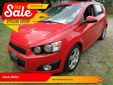 2014 Chevrolet Sonic for sale at Liberty Motors in Chesapeake VA