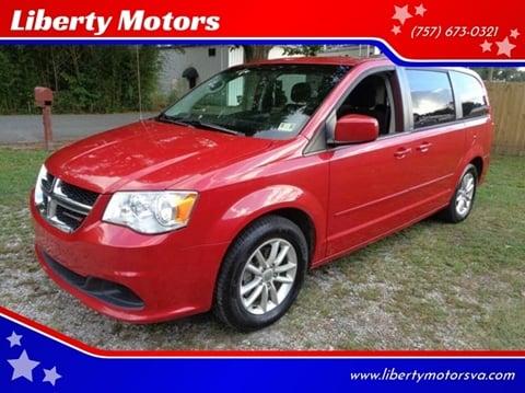 2014 Dodge Grand Caravan for sale at Liberty Motors in Chesapeake VA