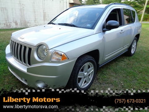 2010 Jeep Compass for sale at Liberty Motors in Chesapeake VA