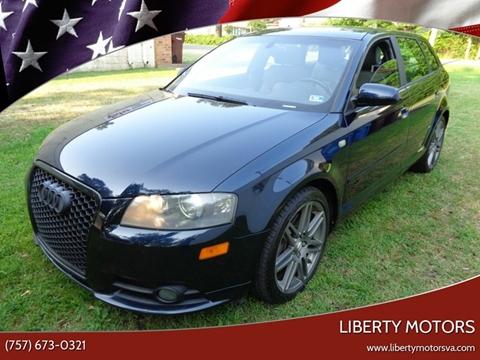 2008 Audi A3 for sale at Liberty Motors in Chesapeake VA
