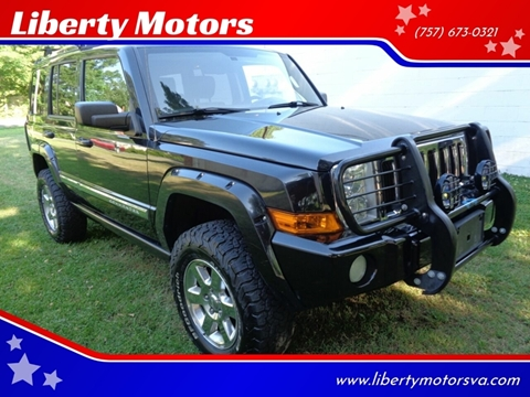 2008 Jeep Commander for sale at Liberty Motors in Chesapeake VA