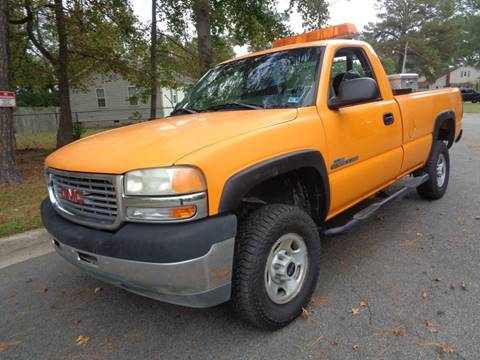 2001 GMC Sierra 2500HD for sale in Chesapeake, VA