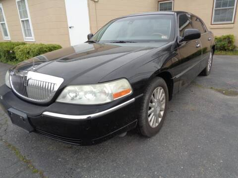 2003 Lincoln Town Car for sale at Liberty Motors in Chesapeake VA