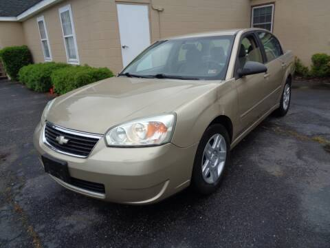 2007 Chevrolet Malibu LT for sale at Liberty Motors in Chesapeake VA