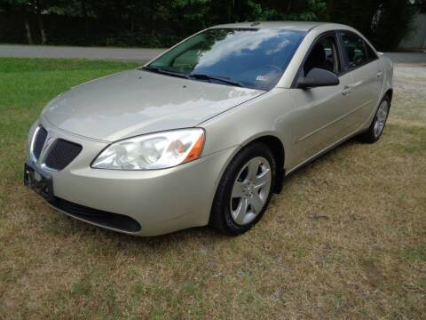 2009 Pontiac G6 for sale at Liberty Motors in Chesapeake VA