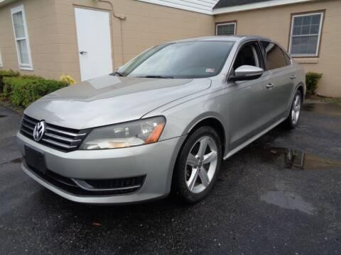 2012 Volkswagen Passat for sale at Liberty Motors in Chesapeake VA