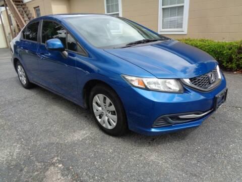 2013 Honda Civic for sale at Liberty Motors in Chesapeake VA