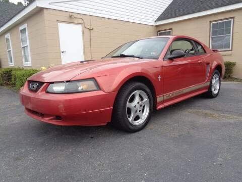 2002 Ford Mustang for sale at Liberty Motors in Chesapeake VA