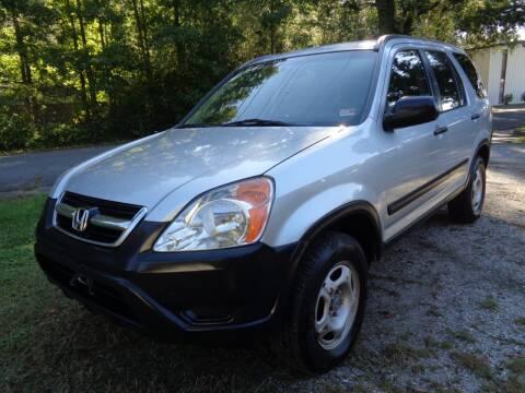 2002 Honda CR-V for sale at Liberty Motors in Chesapeake VA