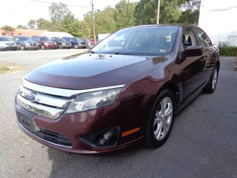2012 Ford Fusion for sale at Liberty Motors in Chesapeake VA