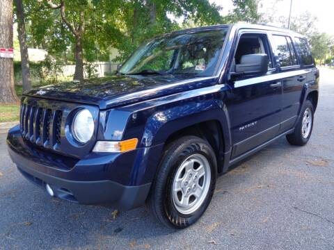 2016 Jeep Patriot for sale at Liberty Motors in Chesapeake VA