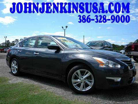 2013 Nissan Altima for sale at JOHN JENKINS INC in Palatka FL