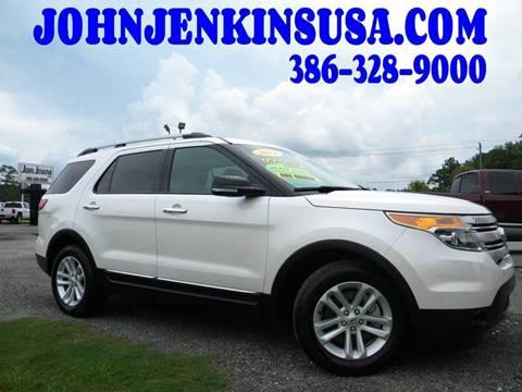 2014 Ford Explorer for sale at JOHN JENKINS INC in Palatka FL