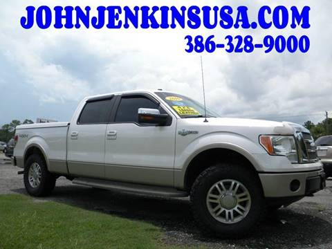 2010 Ford F-150 for sale at JOHN JENKINS INC in Palatka FL